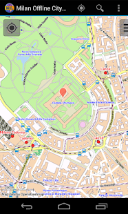 Milan Offline City Map- screenshot thumbnail