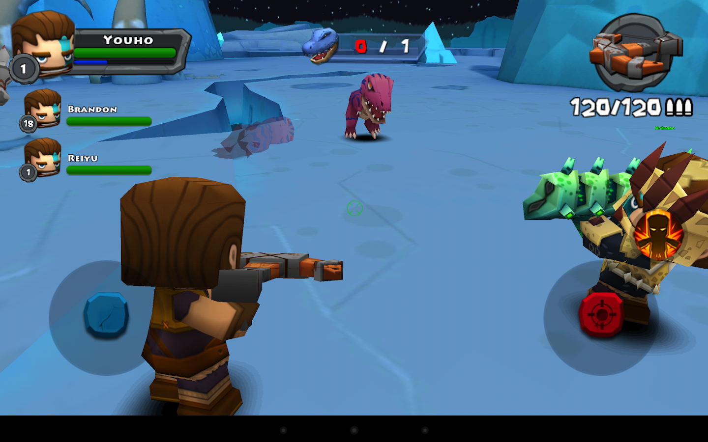 Call of Mini™ Dino Hunter - screenshot