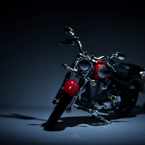 A Sweet Ride by Ananth Eswar - Artistic Objects Toys ( bike, cool bike, alpha, ghost bike, alpha photography )