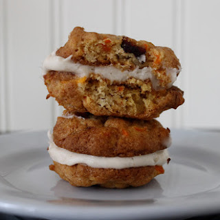 Carrot Cranberry Whoopie Pies