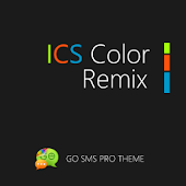 GO SMS ICS Color Remix Theme