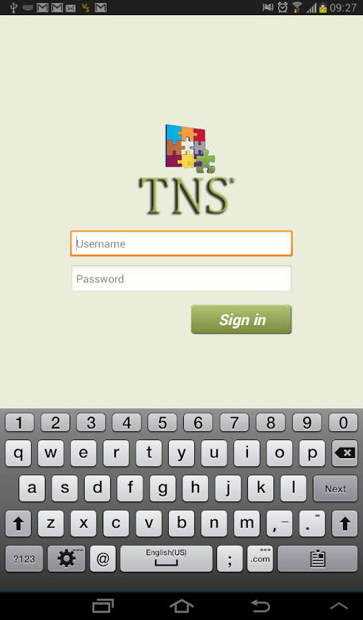 TNS - screenshot