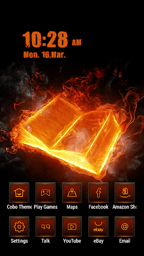 火燒魔法書主題