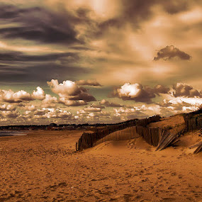 15 by Ed  von Ems - Landscapes Cloud Formations