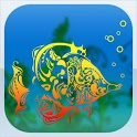 aquarium glam live wallpaper icon
