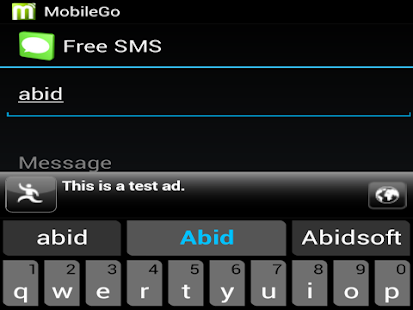 Free SMS to Pakistan Mobiles - screenshot thumbnail