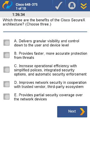 【免費教育App】648-375 Cisco CXFS Exam-APP點子