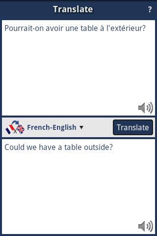 French-English Translator
