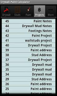 Drywall Calculators - screenshot thumbnail