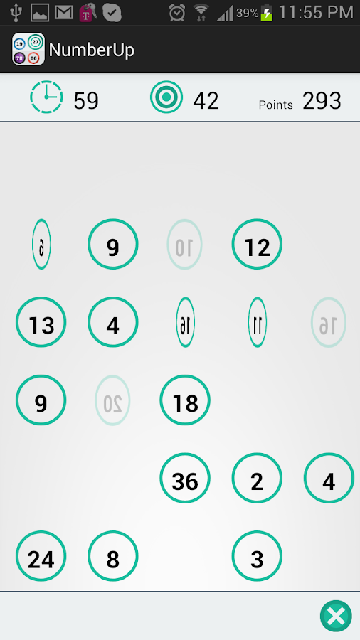 Number Up: The cool math game - screenshot
