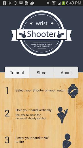 Wrist Shooter