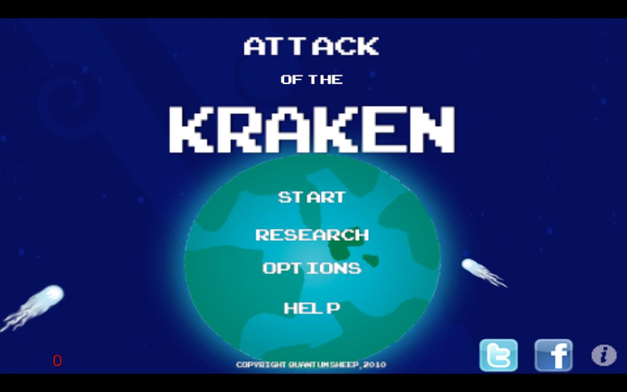 Attack of the Kraken - screenshot
