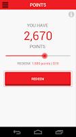 Screenshot of Rewards