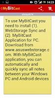 Screenshot of MyBitCast