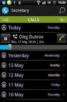 Screenshot of Virtual Secretary Pro