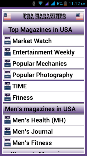 Top Magazines in USA