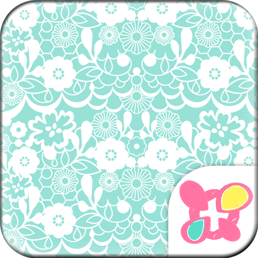 Simple Theme-Lace Flowers- Icon