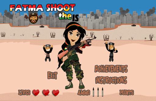 Shoot the IS Terrorist