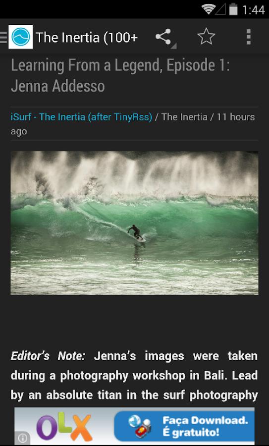 Surfer é gratuito