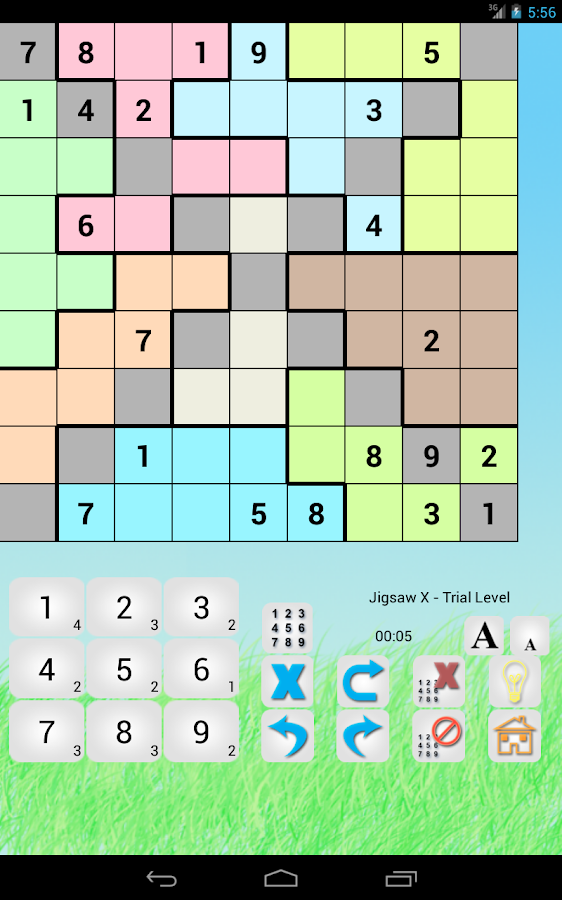 Sudoku Revolution : Hyper, Even Odd, Diagonal- screenshot