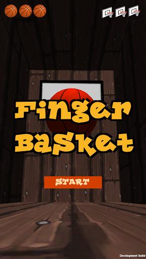 指バスケット