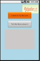 Screenshot of Rubystar Competition App