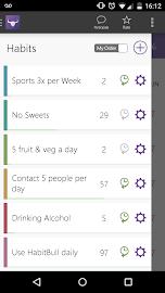 HabitBull - Habit Tracker Screenshot 1