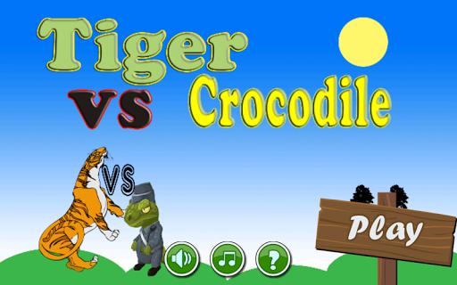Tiger vs crocodile top games