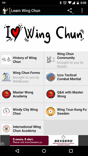 Learn Wing Chun