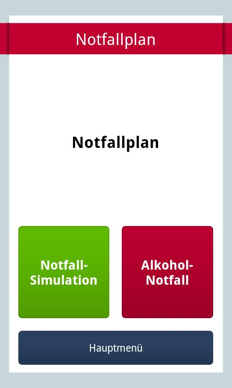 HaLT Alkohol Notfall- screenshot
