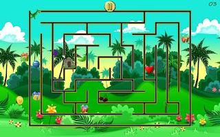 Screenshot of Dino Maze - Mazes for Kids