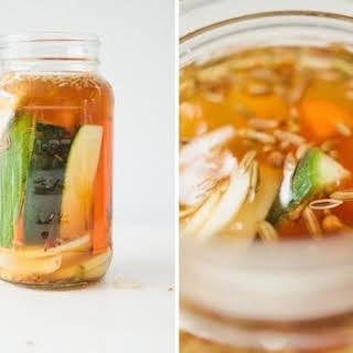 Mixed Vegetable Fridge Pickles.