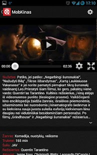 MobKinas - kino tvarkaraščiai- screenshot thumbnail