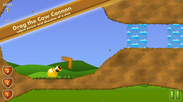 Screenshot of Cow Cannon