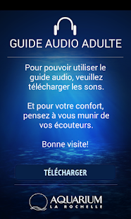 Guide Audio Adulte Aquarium Capture d'écran