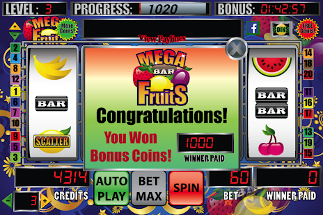 Mega Fruits Slot Machine - screenshot thumbnail