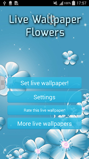 【免費個人化App】Live Wallpaper Flowers-APP點子