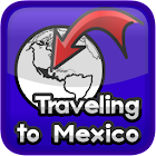 Traveling to Mexico icon