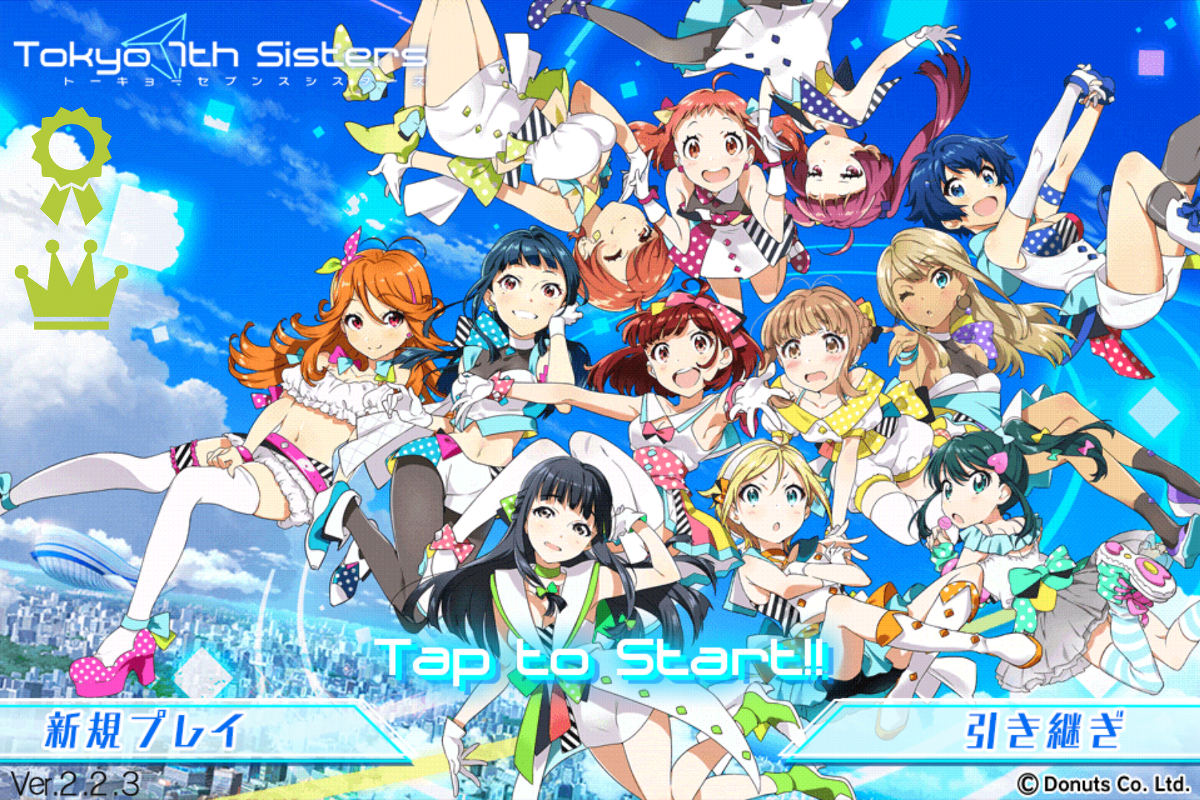 See Gorgeous Anime Idol Girls Rock It In Tokyo 7th Sisters On The Japanese ITunes Store