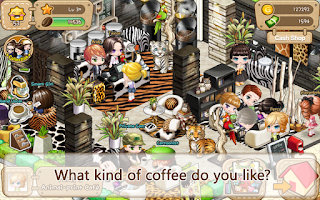 Screenshot of LINE I Love Coffee