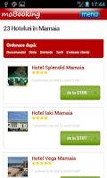 Screenshot of moBooking Romania
