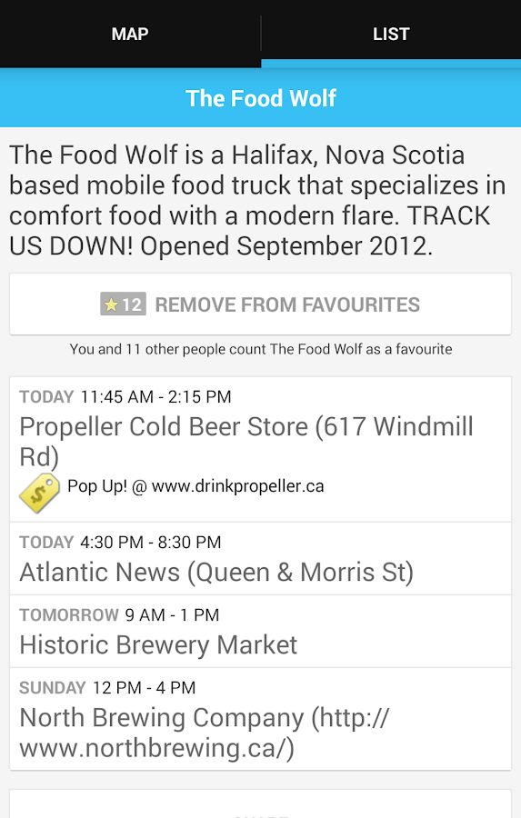Street Food Halifax- screenshot
