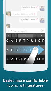 Fleksy + GIF Keyboard Screenshot 7