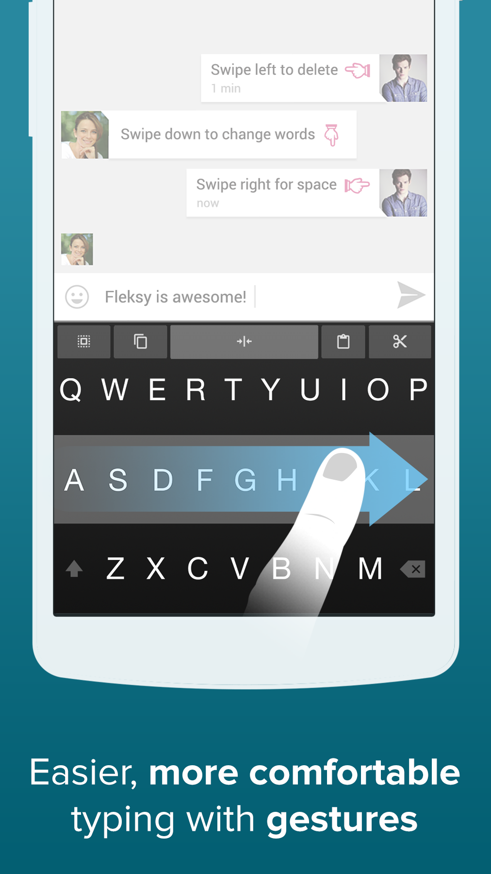 Fleksy + GIF Keyboard screenshot #7