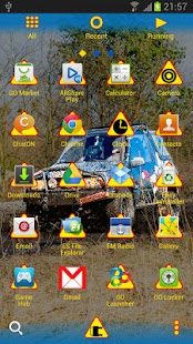 OFF ROAD - GO Launcher Theme- screenshot thumbnail