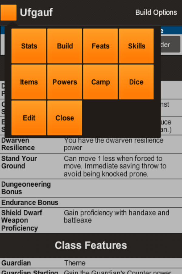 Player Minion for 4th Edition- screenshot