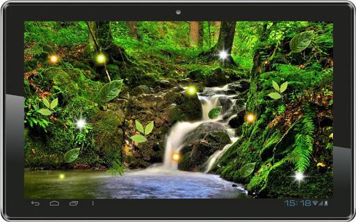 【免費個人化App】Waterfalls HD live wallpaper-APP點子