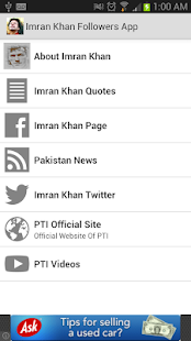 Imran Khan Fan App - screenshot thumbnail