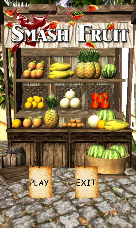 Smash Fruit 3D - screenshot