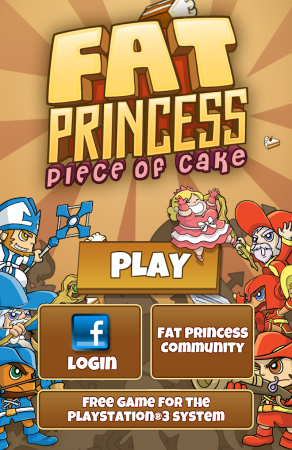 Fat Princess: Piece of Cake- screenshot